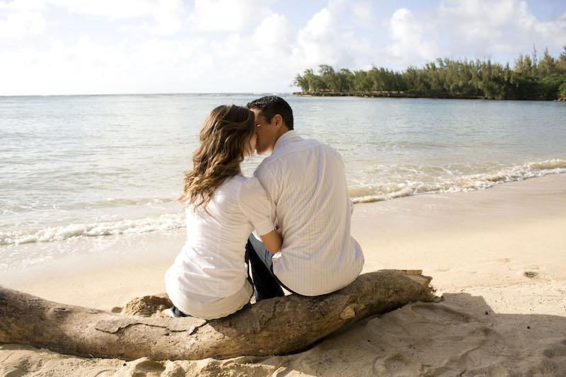 Onromantisch kussen